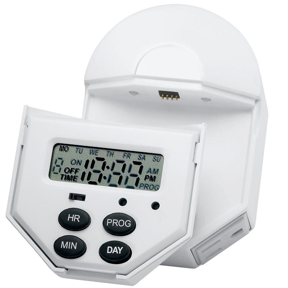 Brinks home security indoor digital 7 day 6 event timer for Brinks home security