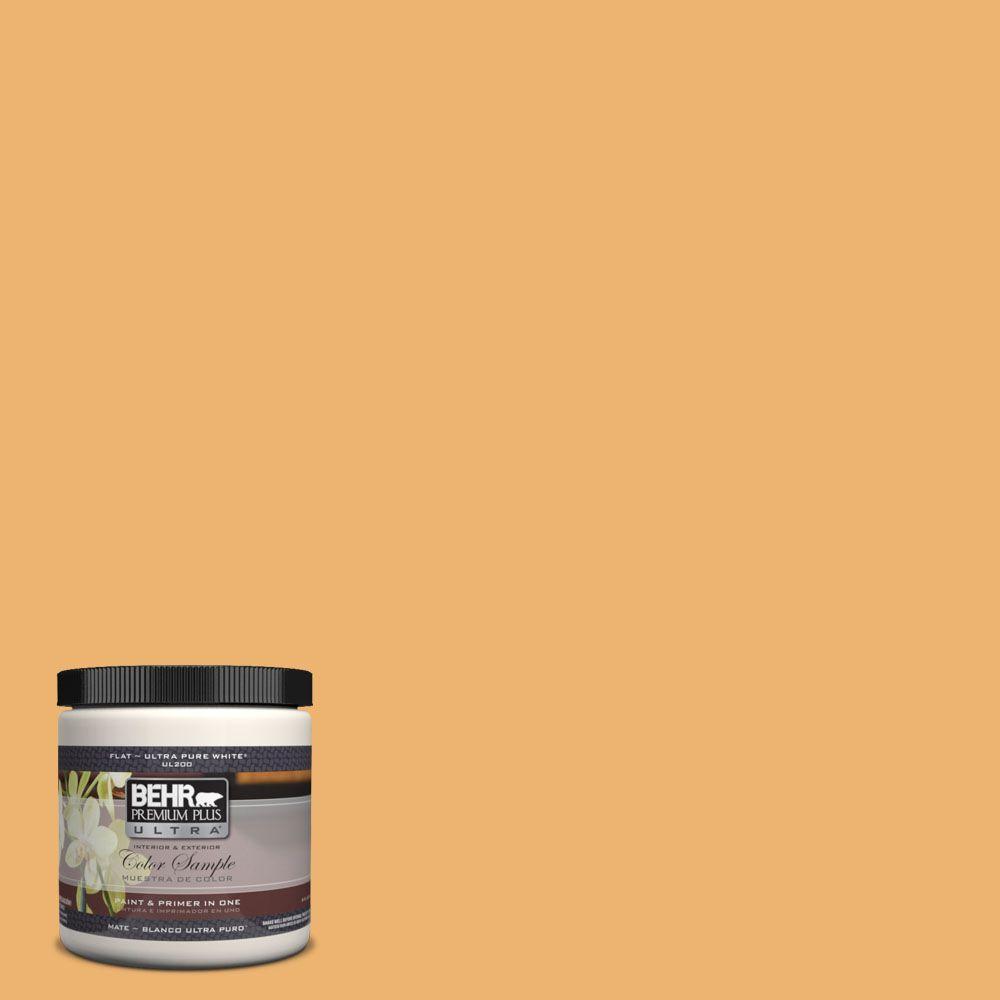 BEHR Premium Plus Ultra 8 oz. #UL150-14 Sunburst Interior/Exterior Paint Sample