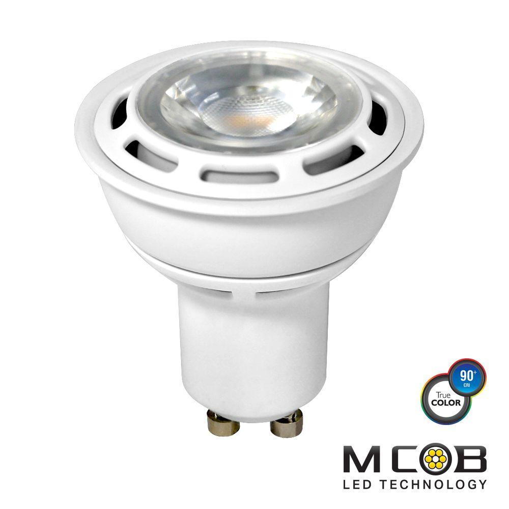 50W Equivalent Cool White PAR16 Dimmable MCOB LED Flood Light Bulb