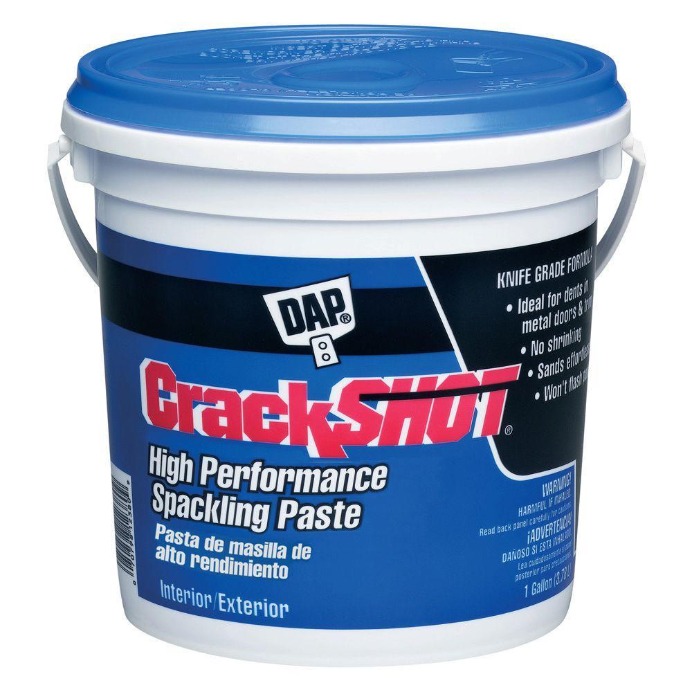 Crackshot 1 Gal. White High Performance Spackling Paste (2-Pack)