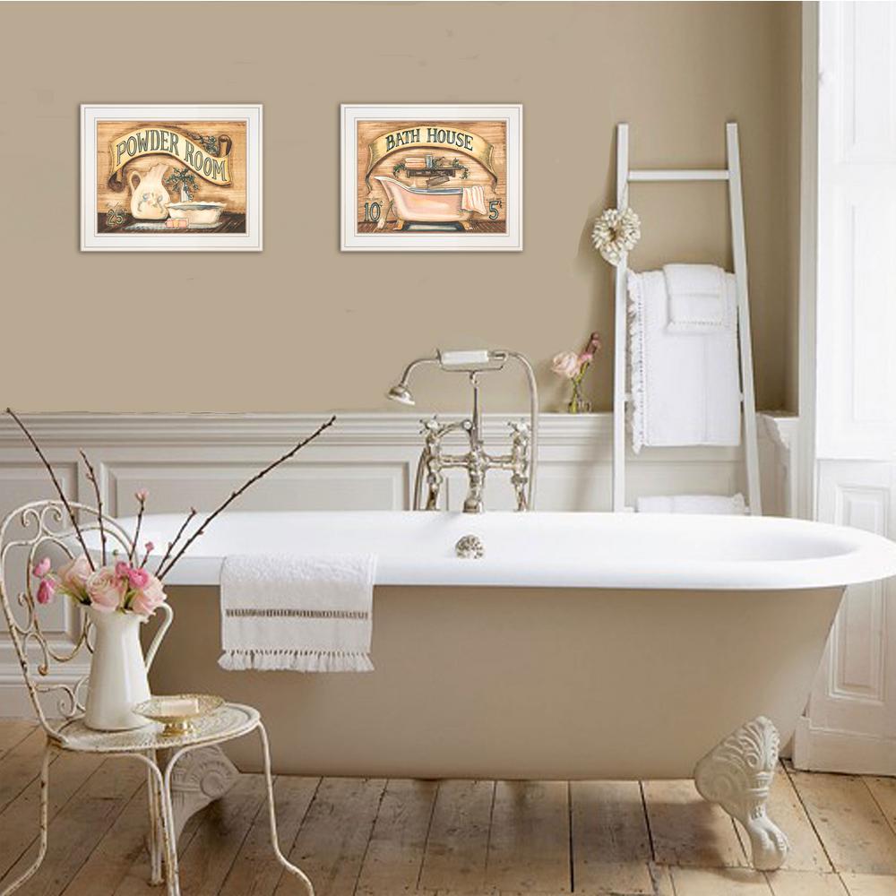 White - Bath - Art Prints - Wall Art - The Home Depot