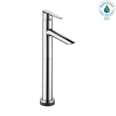 Compel Single Hole Single-Handle Vessel Bathroom Faucet with Touch2O.xt Technology in Chrome