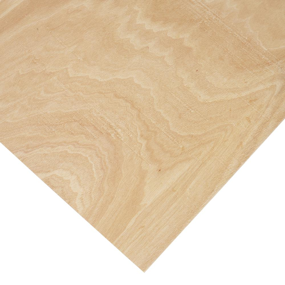 Columbia Forest Products 1/8 in. x 4 ft. x 4 ft. PureBond Radius Bending Plywood Project Panel