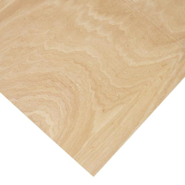1/8 in. x 4 ft. x 4 ft. PureBond Radius Bending Plywood Project Panel