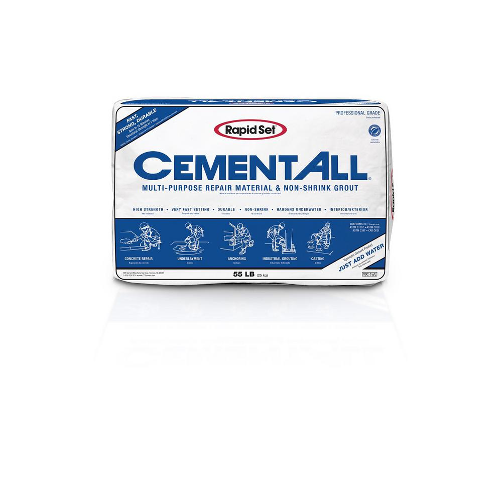 Rapid Set 55 lb  Cement All Multi-Purpose Construction Material