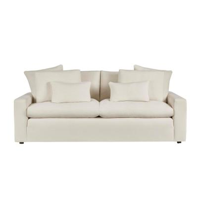 Daymont Acuff Ivory Straight Standard Sofa (91.5 in. W x 36 in. H)