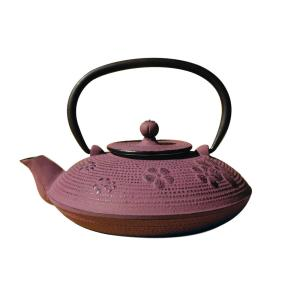 Old Dutch Greek Wine Cast Iron Kamakura Teapot with Stand by Old Dutch