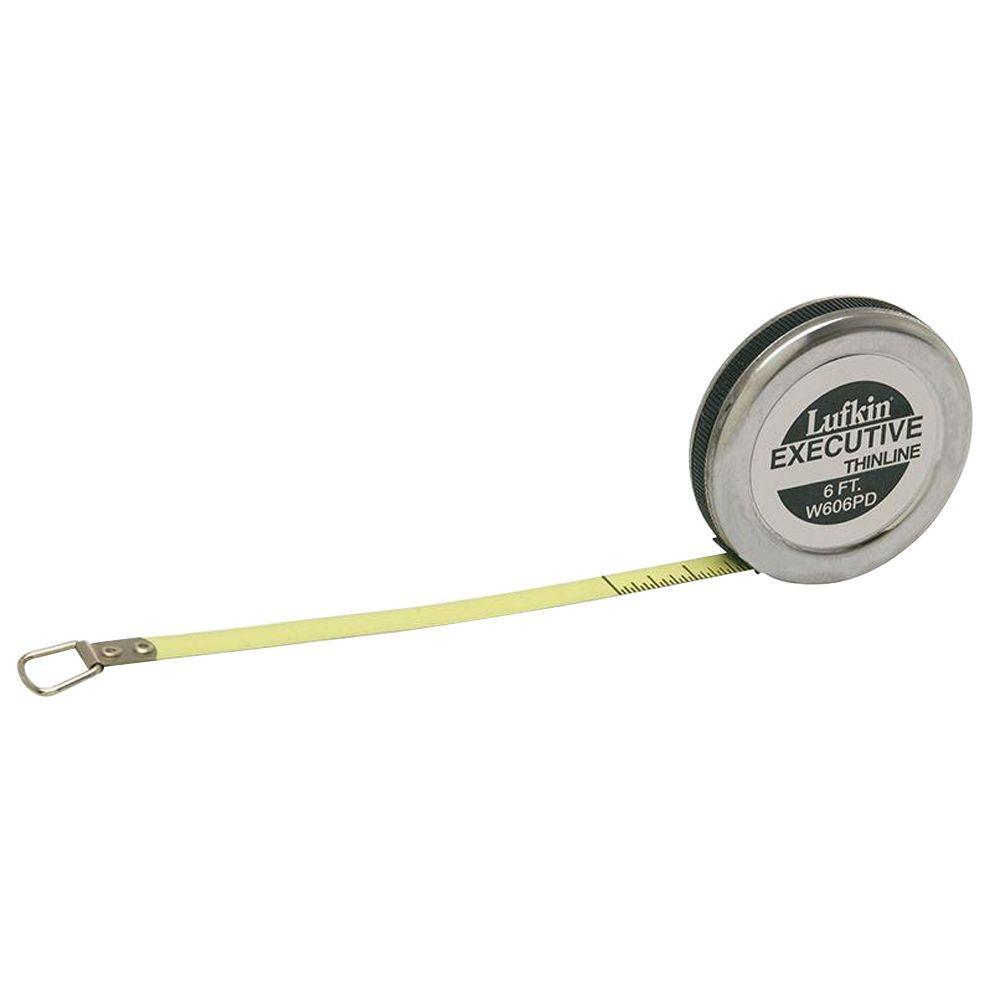 1/4 in. x 6 ft. Executive Diameter Engineer's Tape Measure