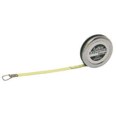 1/4 in. x 6 ft. Executive Diameter Engineer's Tape Measure