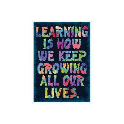 Learning is How We Keep Growing Poster