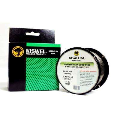 0.035 in. Dia 2 lb. Gasless-Flux Core Wire for 490MPs High Tensile Steel