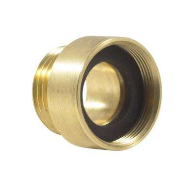 1-1/8 in. x 3/4 in. Brass Hose Thread Adapter for Arrowhead Hydrant