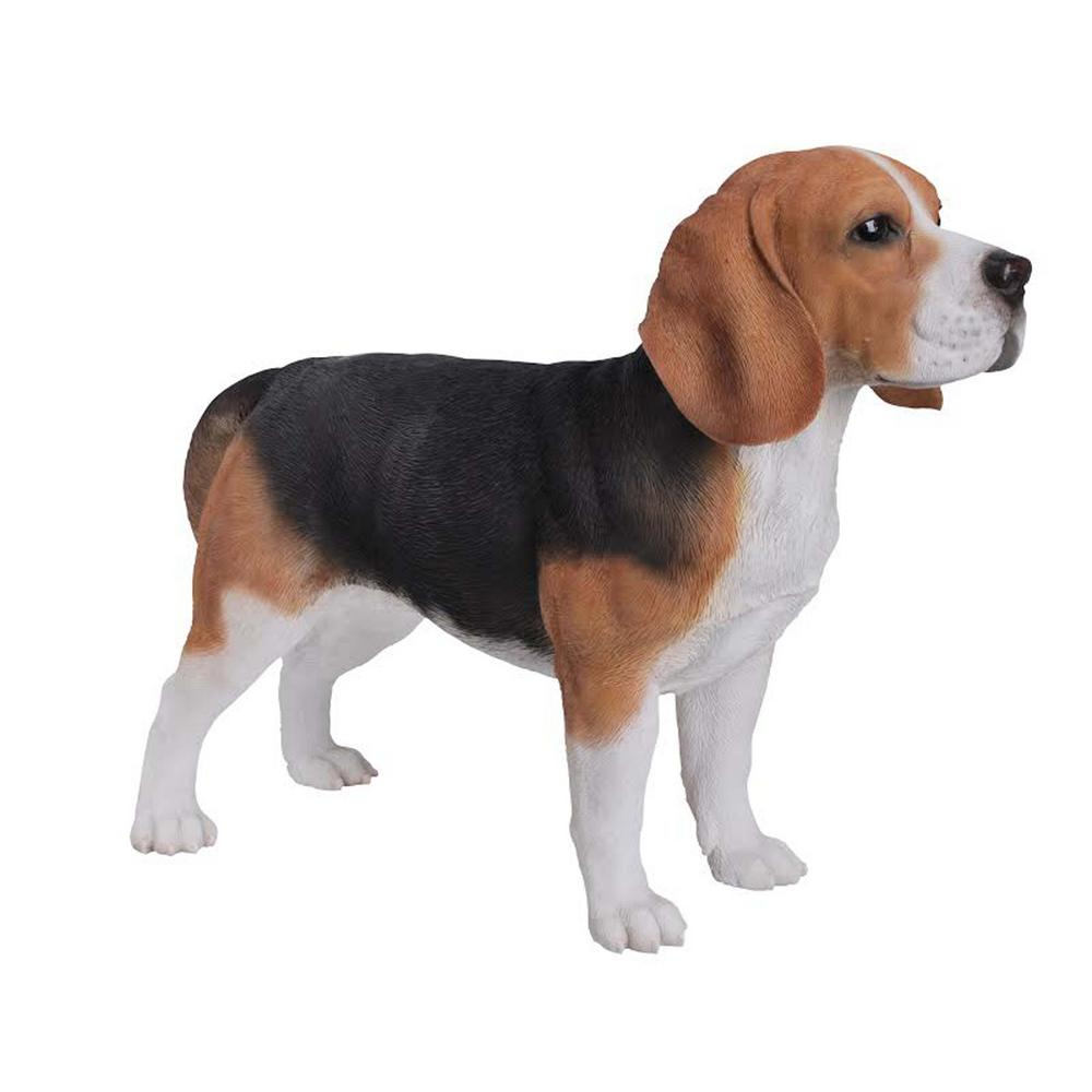 Hi-Line Gift Beagle Standing Garden Statue