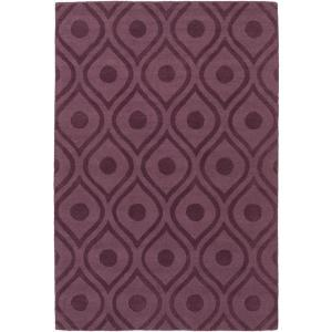 Artistic Weavers Central Park Zara Eggplant 9 ft. x 12 ft. Indoor Area Rug by Artistic Weavers