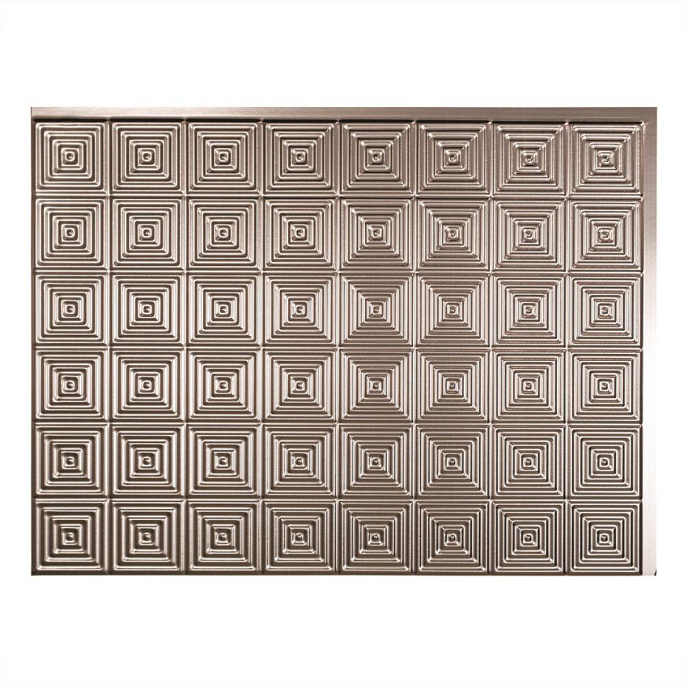 Fasade 24 in. x 18 in. Miniquattro PVC Decorative Backsplash Panel