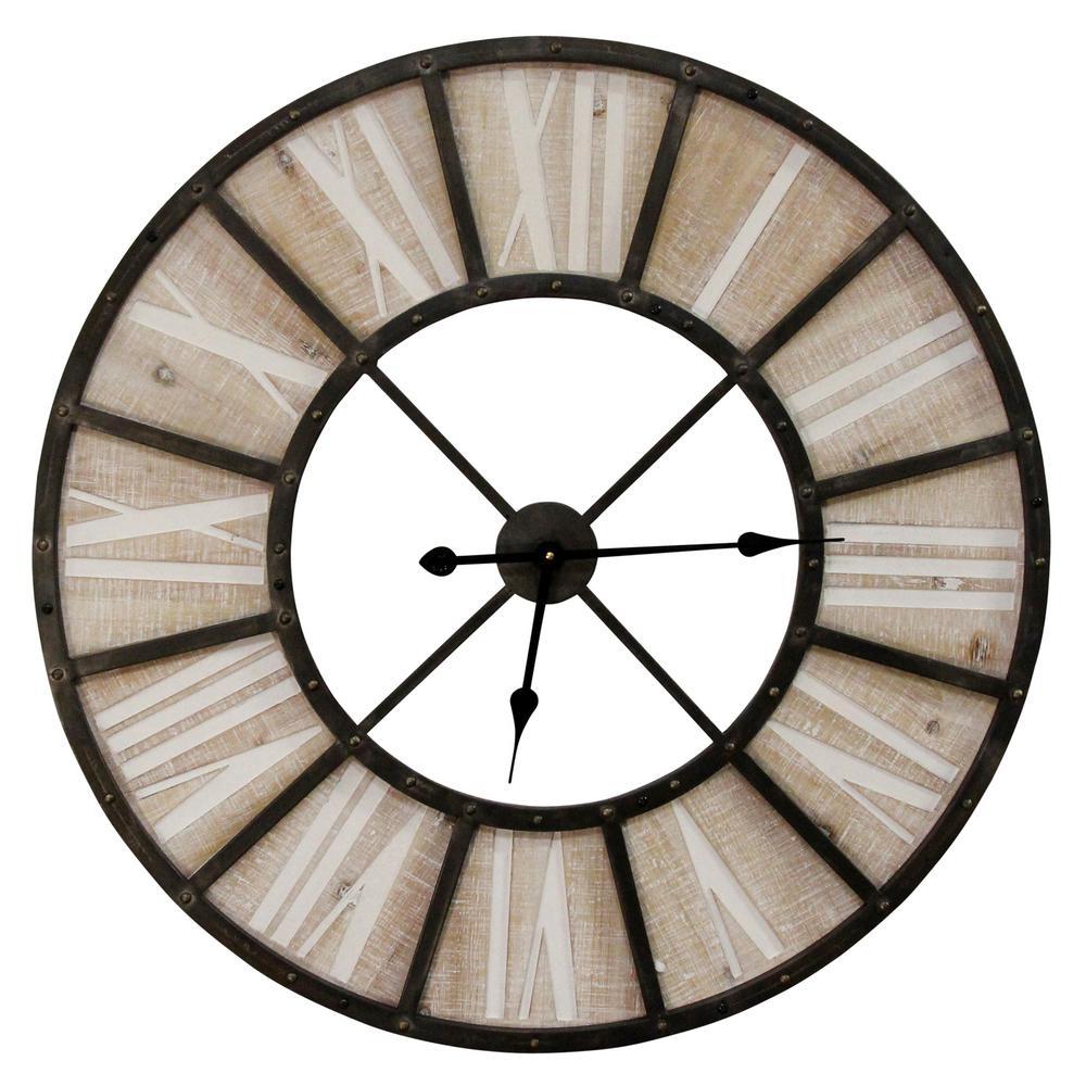 """Oversized 31.50"""" Farmhouse Jackson Wall Clock"""