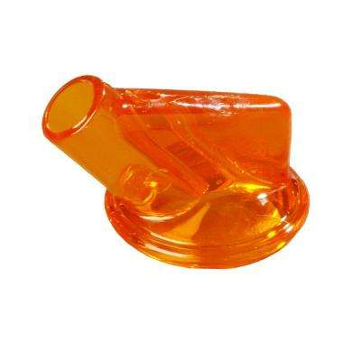 Replacement Spout for Stor 'N Pour System and Fits Necks in Orange (Case of 12)