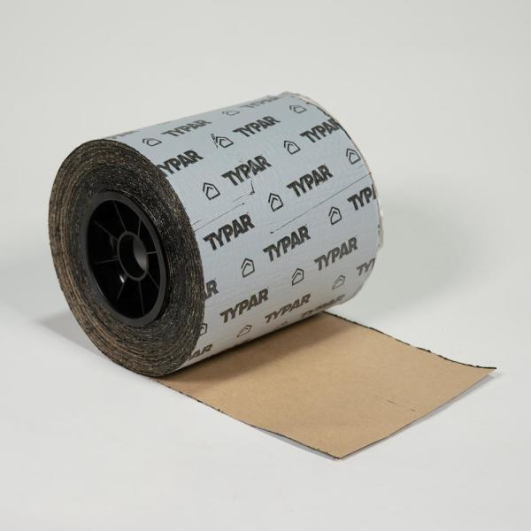 Typar 4 In X 75 Ft Butyl Rubber Copolmer Window And Door Flashing Roll Butyl 001 The Home Depot