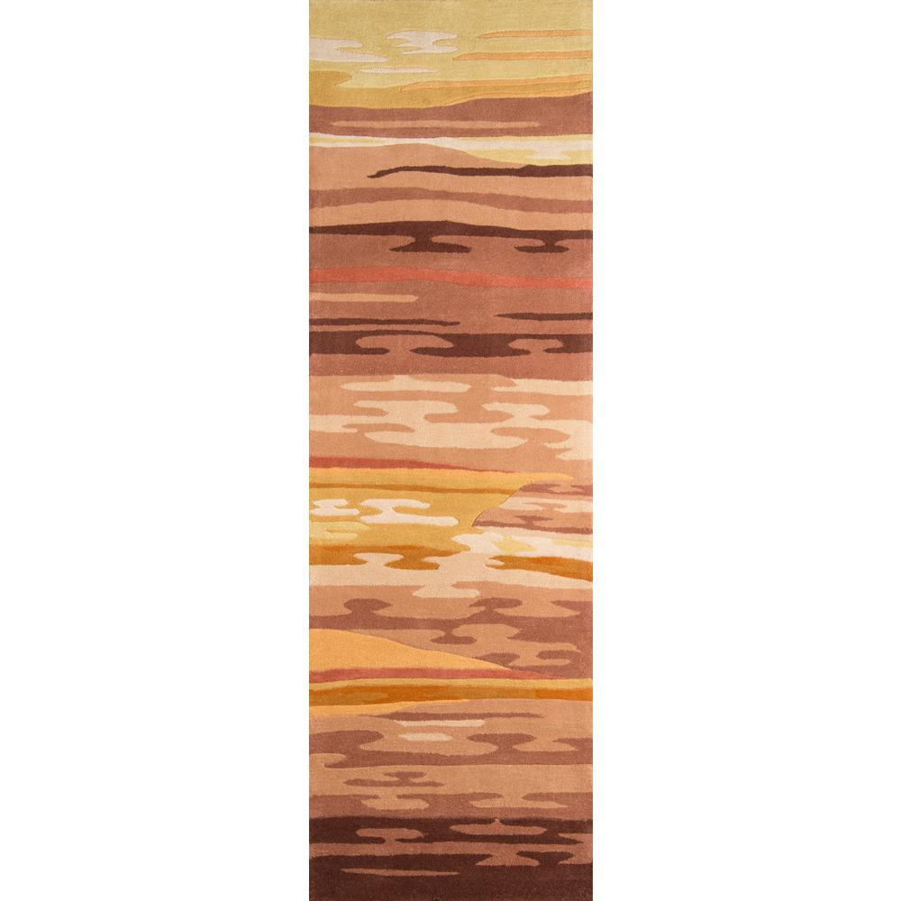 Momeni Contempo Sand (Brown) 3 ft. x 12 ft. Indoor Runner...