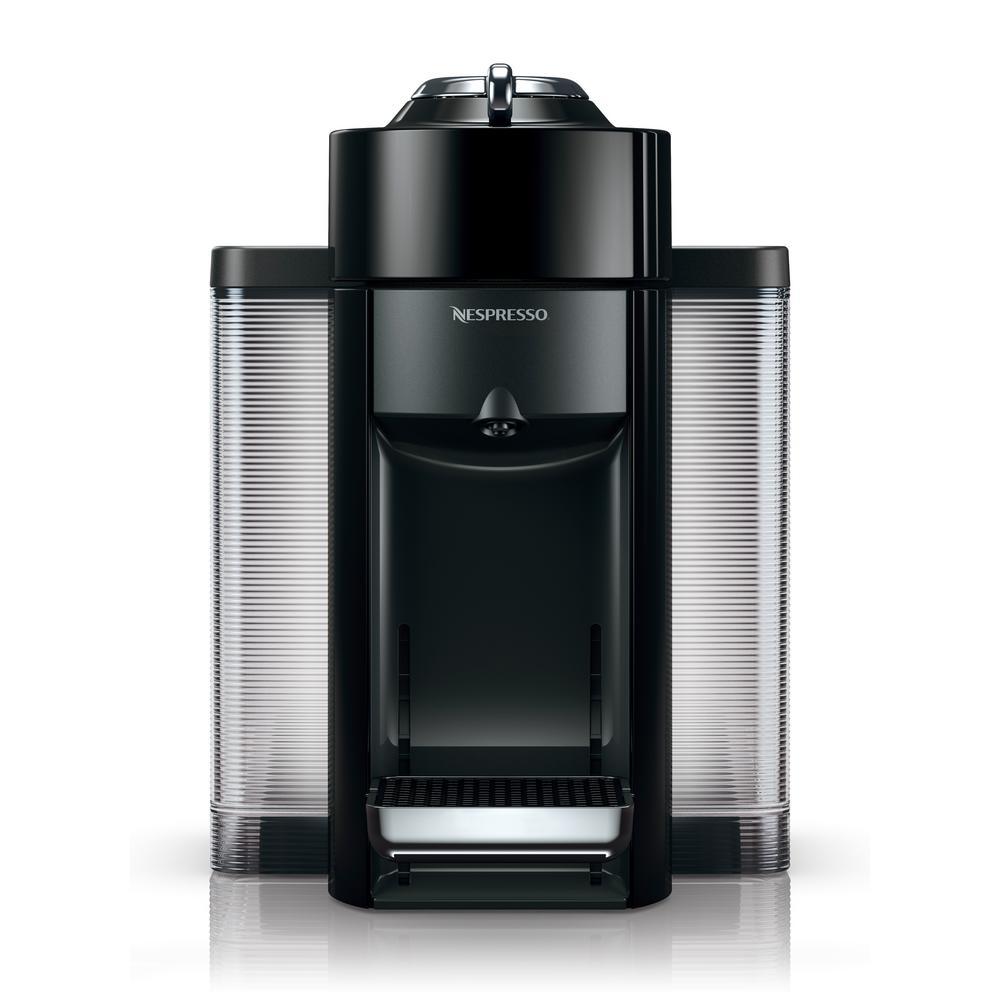 Nespresso Nespresso DeLonghi Vertuo Black Single Serve Coffee Maker and Espresso Machine