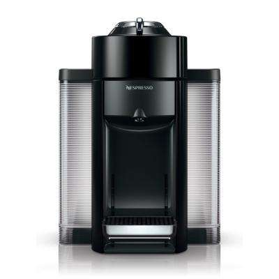 Nespresso Vertuo Single Serve Coffee and Espresso Machine by De'Longhi in Black