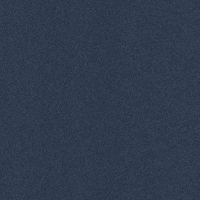 Arcadian - Color Ocean Blue Texture Indoor/Outdoor 12 ft. Carpet