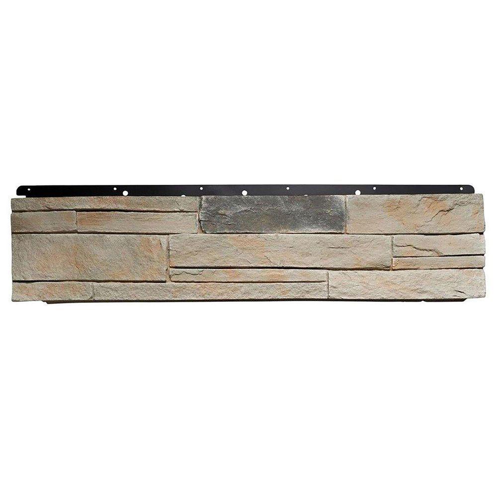 8 in. x 36 in. Versetta Stone Ledgestone Corner Mission Siding (6-Bundles Per Box)