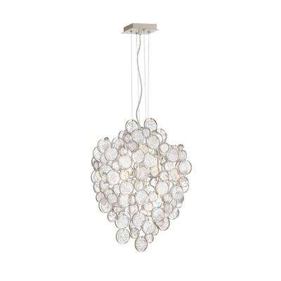 Trento 7-Light Champagne Silver Chandelier