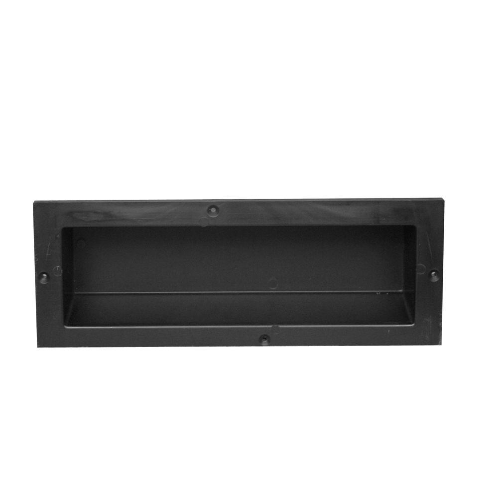 Redi Ledge 4 in. L x 6 in. H x 16 in. W Recessed Shaving Bathroom ...