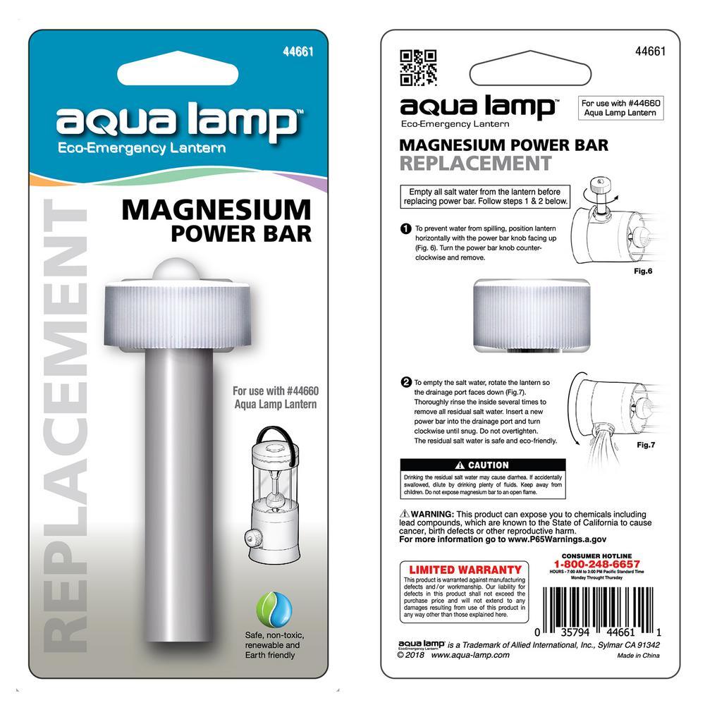 Magnesium Replacement Bar