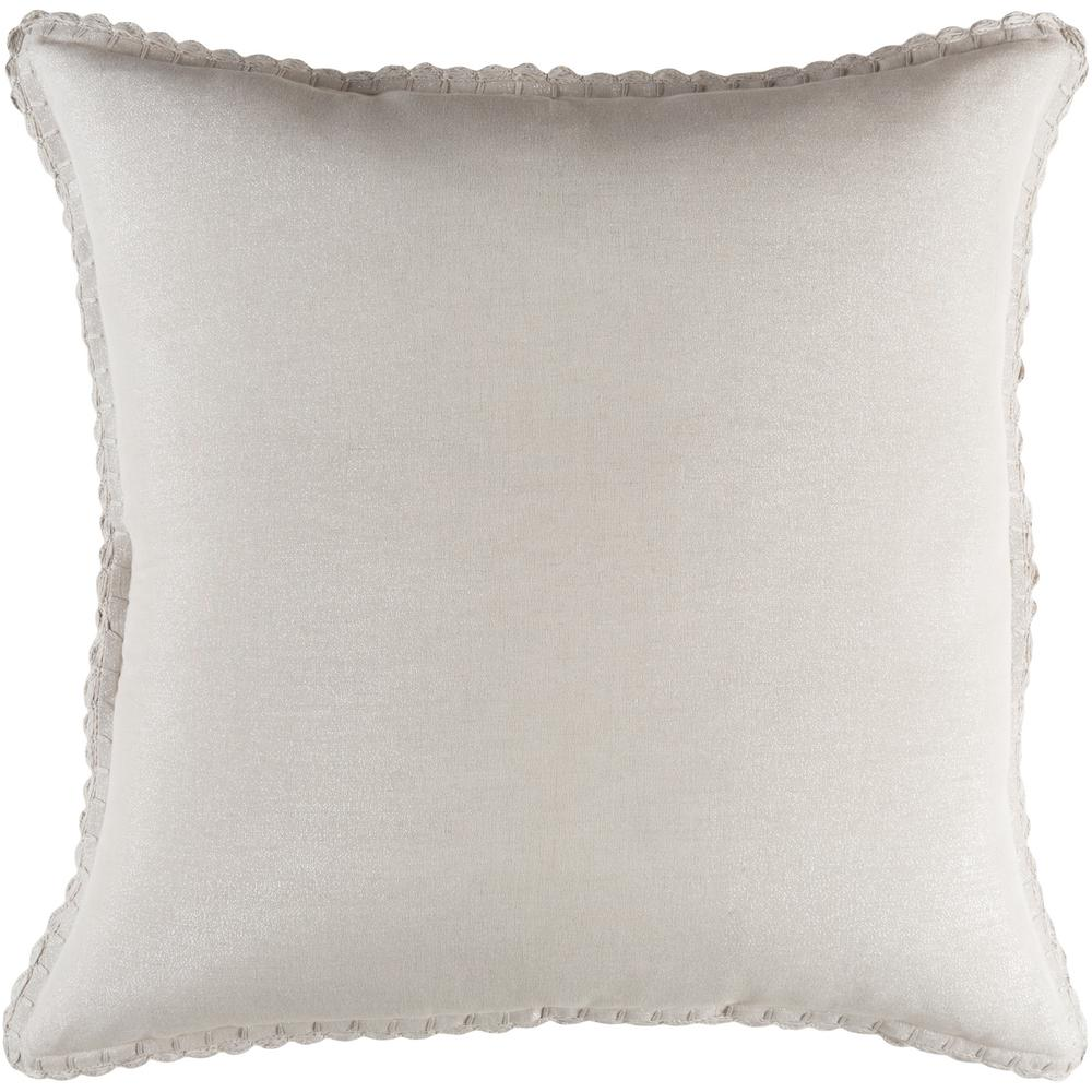 Sonja Light Gray Euro Sham