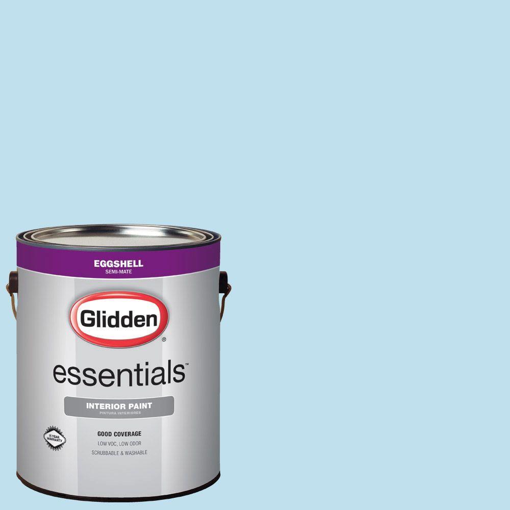 Hdgb44 Clear Blue Sky Eggshell Interior Paint