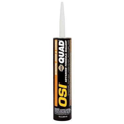 10 fl. oz. Gray No.517 QUAD Advanced Formula Window Door and Siding Sealant (12-Pack)