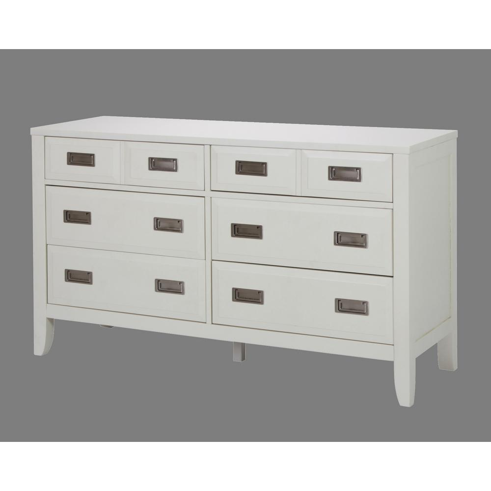home styles newport 6drawer white dresser