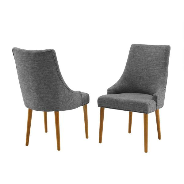 Landon Acorn Upholstered Dining Chairs (2-Piece)