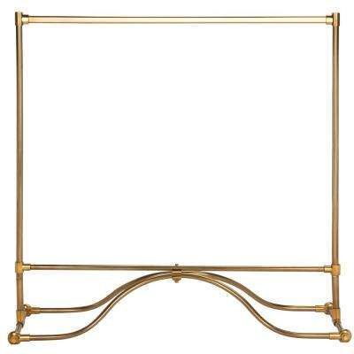 Lila 57.2 in. Brass Modern Coat Rack