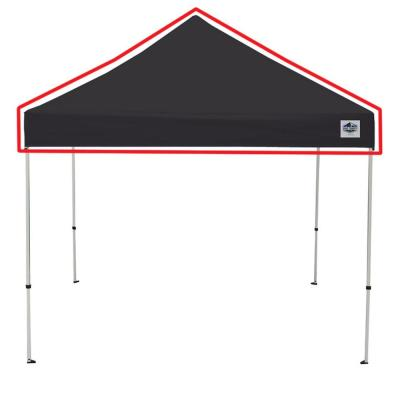 Universal Black Cover for 10 ft. x 10 ft. Instant Pop Up Tent