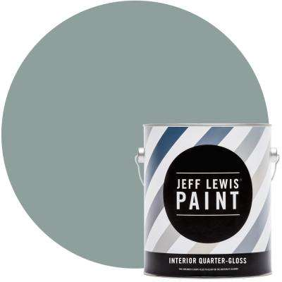 1 gal. #312 Agave Quarter-Gloss Interior Paint