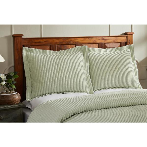 Better Trends Julian Collection In Solid Stripes Design Sage King
