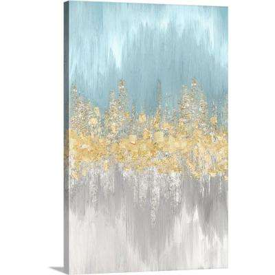 """Neutral Wave Lengths II"" by Eva Watts Canvas Wall Art"