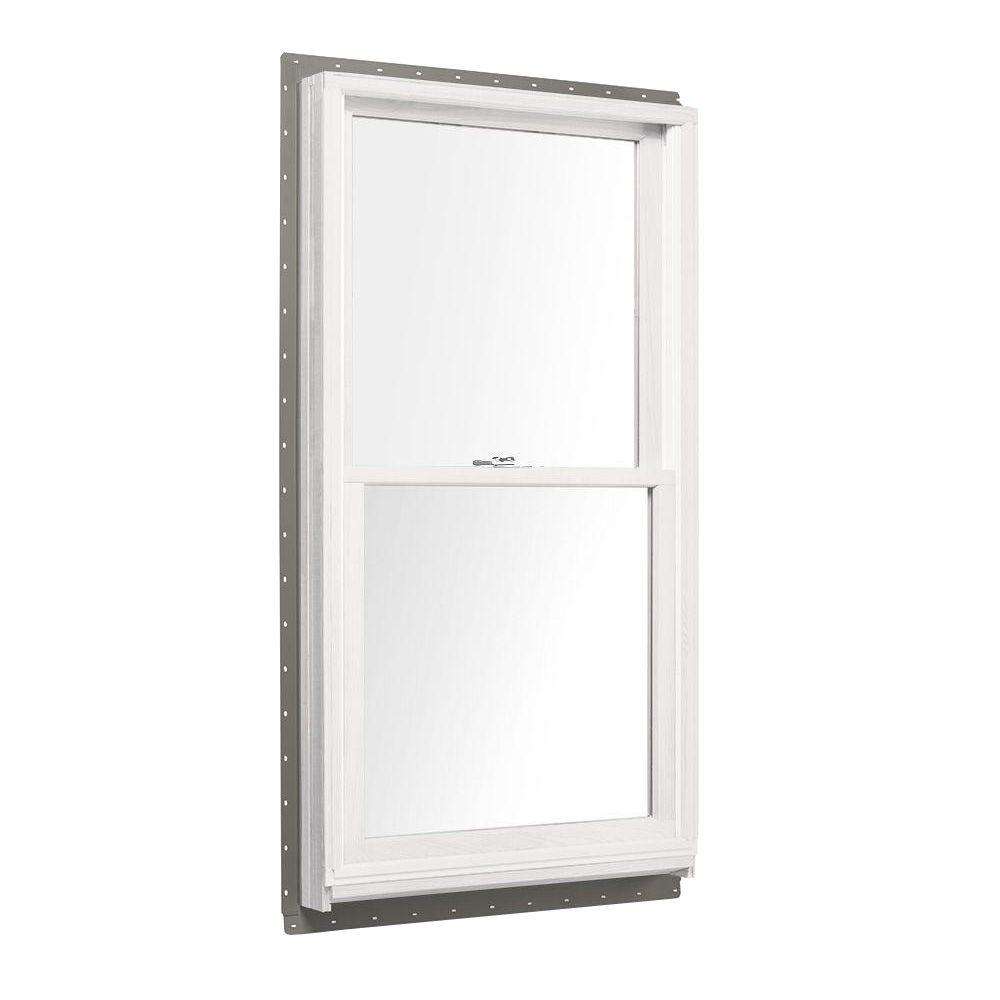 29.625 in. x 40.875 in. 400 Series Double Hung White Interior