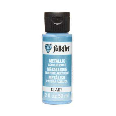 2 oz. Blue Pearl Metallic Craft Paint