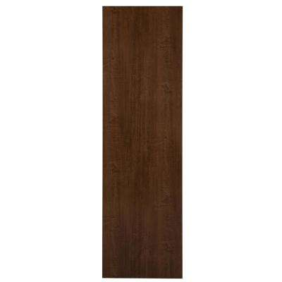 23.76x84x0.51 in. Pantry End Panel in Butterscotch