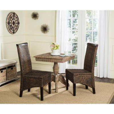 Ilya Wicker Chair in Brown Multi (2-Pack)