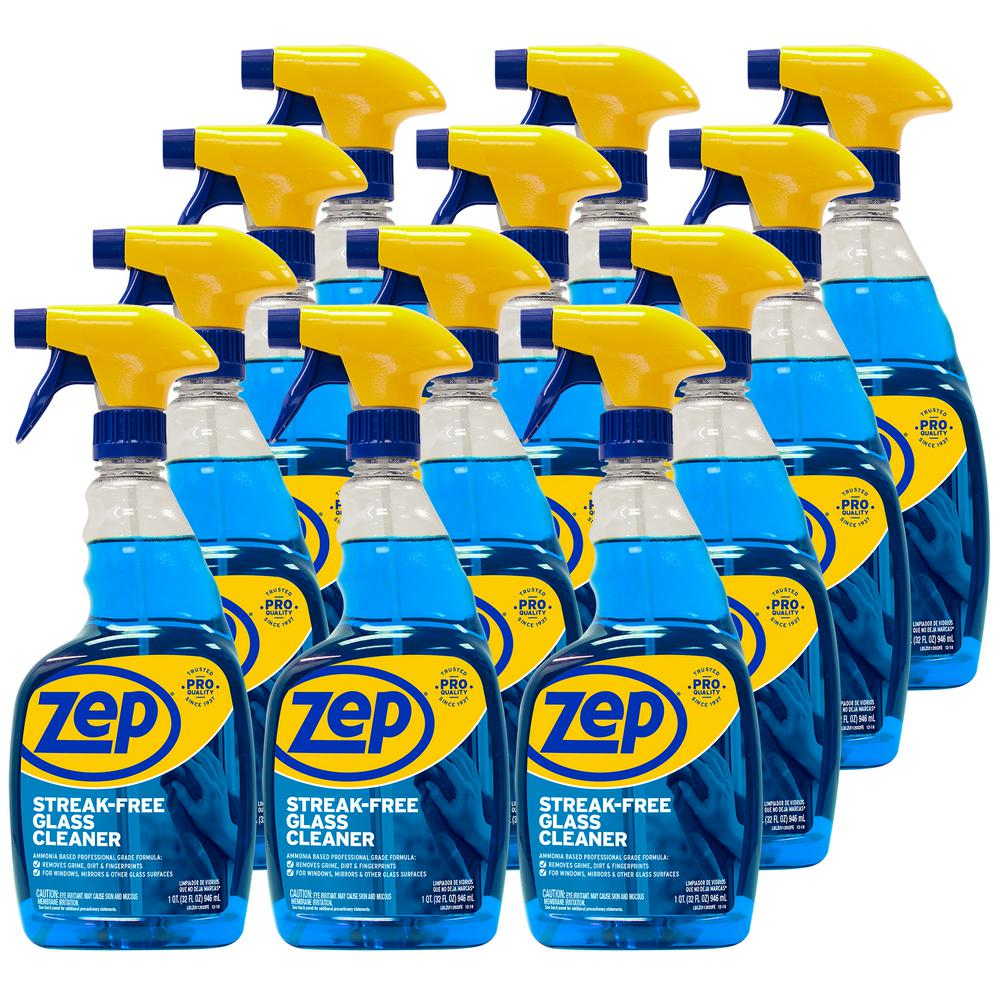 ZEP 32 oz. Streak-Free Glass Cleaner (Case of 12)