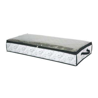 40 in. x 18 in. x 6 Under the Bed Storage Bag in Marble