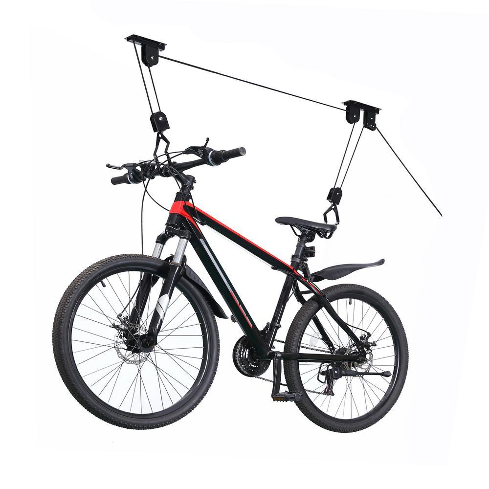 Heavy Duty Ceiling Mount Bike Hoist Set