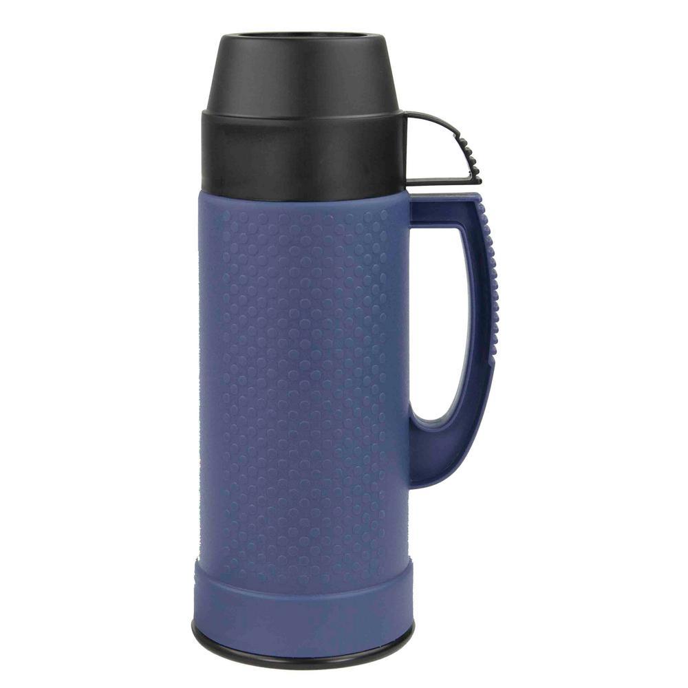 25.36 oz. Blue Travel Mug