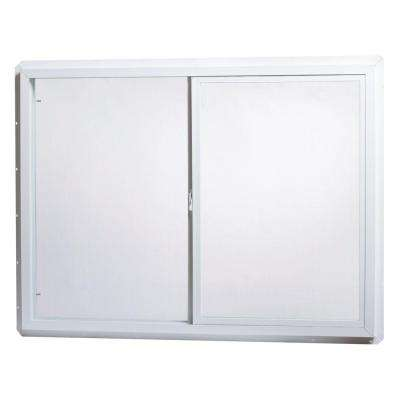 Single Sliding Vinyl Window