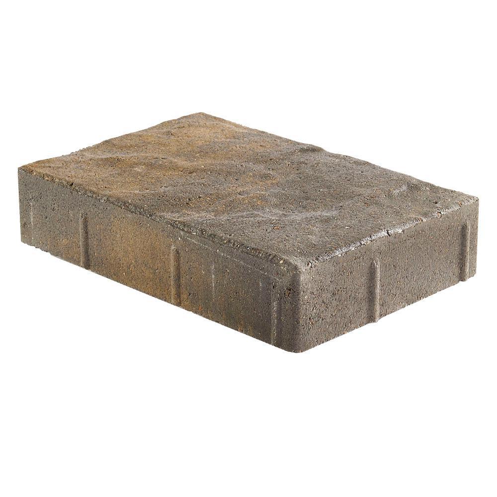 Taverna Rec 11.81 in. L x 7.87 in. W x 1.9 in. H Ozark Blend Concrete Paver (192-Piece/124 sq. ft./pallet)